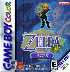 The Legend of Zelda: Oracle of Seasons and Oracle of Ages box art