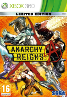 Anarchy Reigns Limited Edition box art for Xbox 360