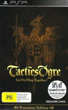Tactics Ogre: Wheel of Fortune box art for PSP