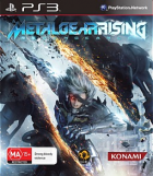 Metal Gear Rising: Revegeance box art for PlayStation 3