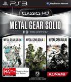 Metal Gear Solid HD Collection box art for PlayStation 3