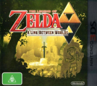 The Legend of Zelda: A Link Between Worlds box art for Nintendo 3DS