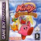 Kirby & The Amazing Mirror box art for Game Boy Advance
