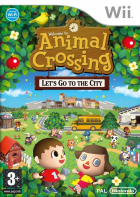 Animal Crossing: Let's Go to the City box art for Wii