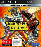Anarchy Reigns Limited Edition box art for PlayStation 3