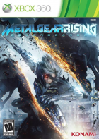 Metal Gear Rising: Revegeance box art for Xbox 360