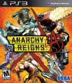 Anarchy Reigns box art for PlayStation 3