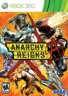Anarchy Reigns box art for Xbox 360