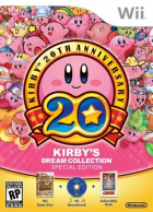 Kirby's Dream Collection box art for Wii