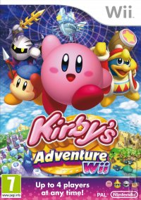 Kirby's Adventure Wii - European Cover Art