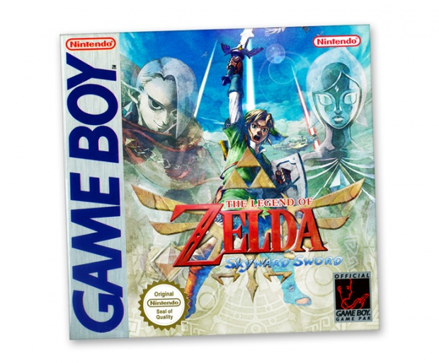 The Legend of Zelda: Skyward Sword GB Cover