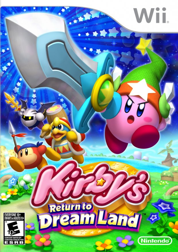 Kirby's Return to Dream Land - American Cover Art