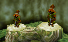Skull Kids in the Lost Woods - Ocarina of Time
