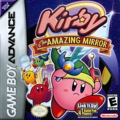 Kirby & The Amazing Mirror box art