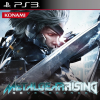 Metal Gear Rising: Revegeance JP PS3 cover