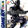 Metal Gear Solid (Game Boy Color) US Cover