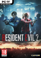 Resident Evil 2 box art for PC