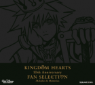 Kingdom Hearts 10th Anniversary Fan Selection -Melodies & Memories- box cover