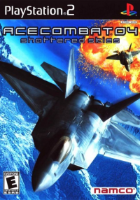 Ace Combat 04: Shattered Skies box art