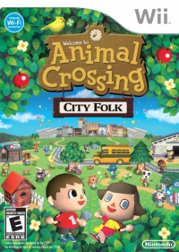 Animal Crossing: City Folk box art