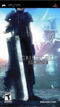 Crisis Core - Final Fantasy VII box art