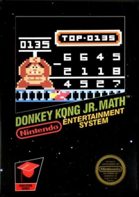 Donkey Kong Jr. Math box art