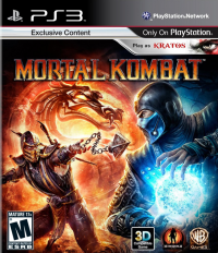 Mortal Kombat 9 box art