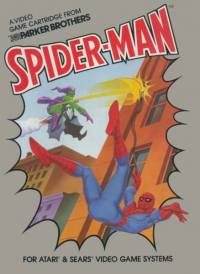 Spider-Man (Atari 2600) box art