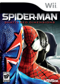 Spider-Man: Shattered Dimensions box art