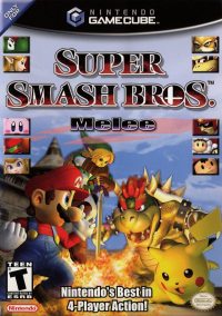 Super Smash Bros. Melee box art