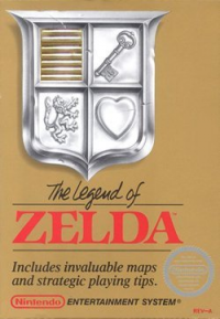 The Legend of Zelda box art