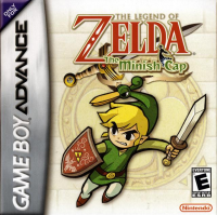 The Legend of Zelda: The Minish Cap box art